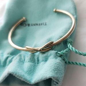 Tiffany & Co. Infinity Silver Open Cuff Bracelet